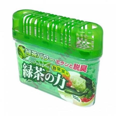 Kokubo Deodorant Power of green tea Дезодорант-поглотитель неприятных запахов для холодильника с зел