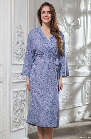 Женский длинный халат Mia-Amore LIA ЛИЯ 6439