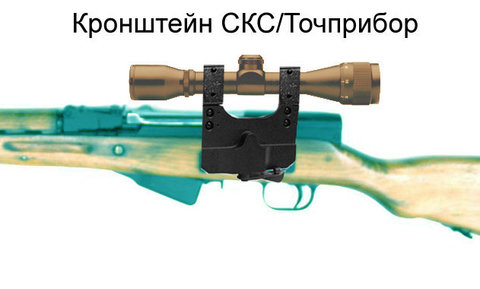 Кронштейн 25,4 мм СКС/Точприбор