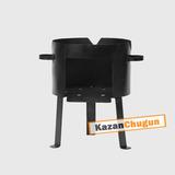 Печь под казан 30 литров сталь 2 мм