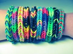 Набор для плетения фенечек из резинок