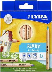Карандаши цветные Lyra FERBY 12 цветов