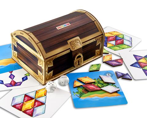 Набор развивающих игр Сокровища пиратов, Smile Decor П251