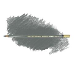 Карандаш художественный акварельный MONDELUZ, цвет 71 серый