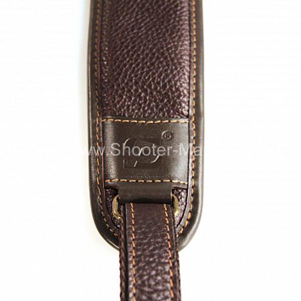 Ремень ружейный кожаный для гладкоствольного оружия Стич Профи