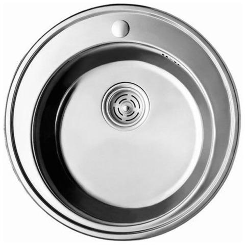 Мойка круглая CRISTAL врезная 510х180 7105