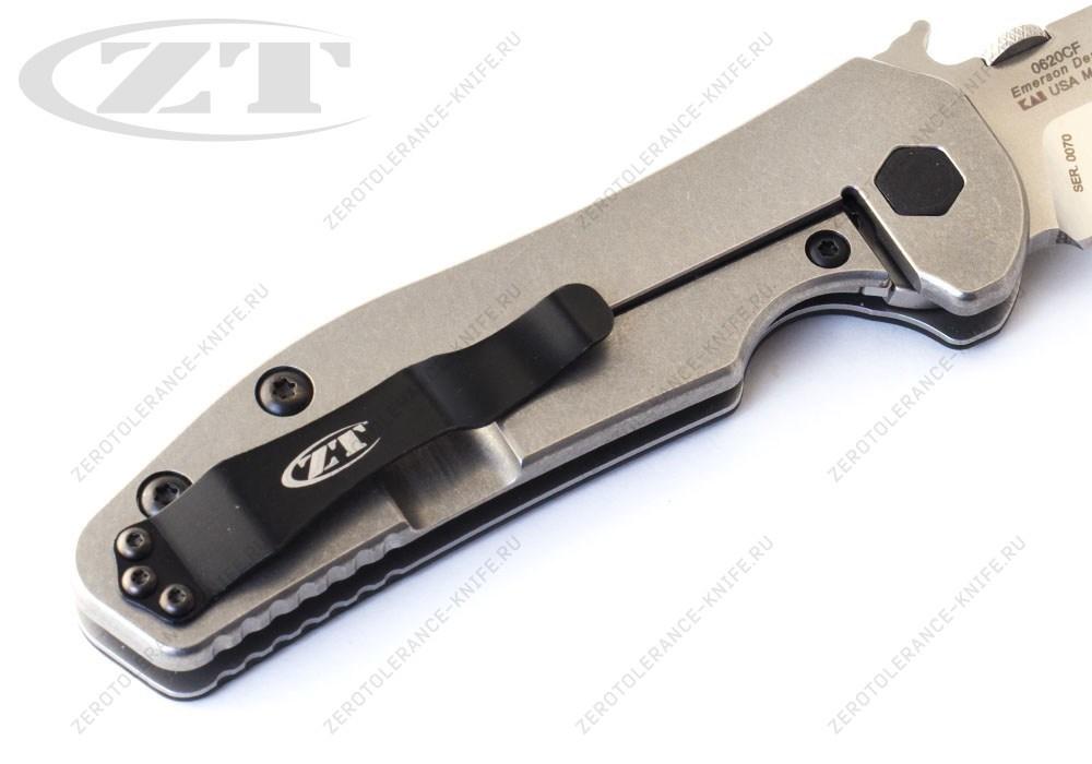 Нож Zero Tolerance 0620CF M390 Emerson - фотография