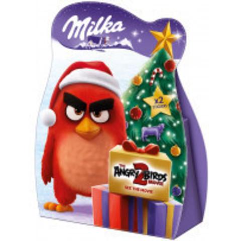 Новогодний набор Milka Angry Birds с сюрпризами Red 63 гр