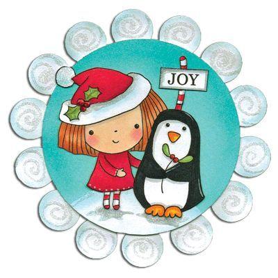 Набор штампов christmas with mimi