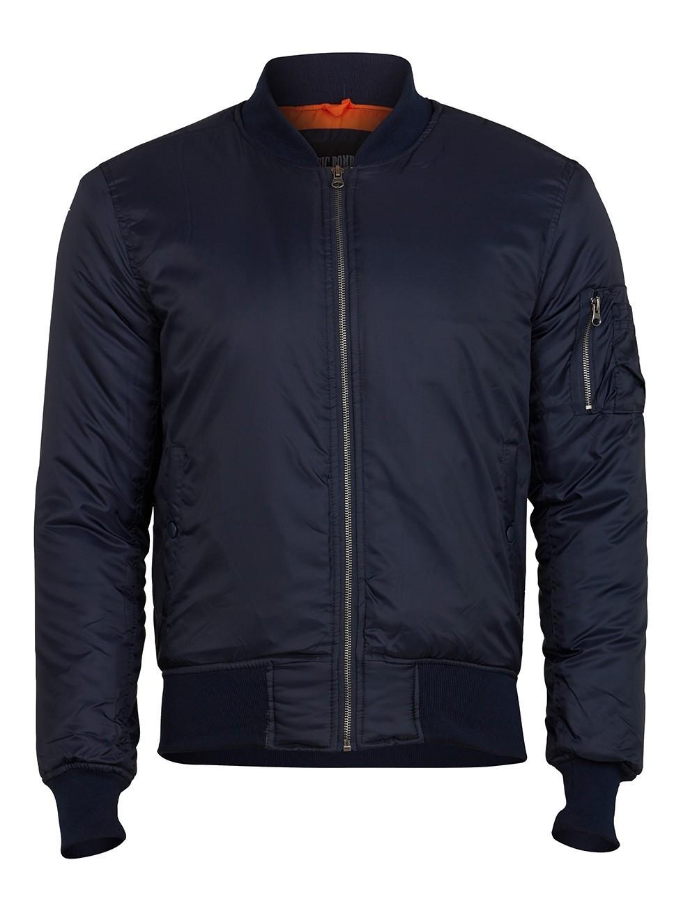 Куртка Бомбер - MA-1 Surplus Basic Bomber (т.синяя- navy)