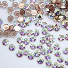 2078 Стразы Сваровски горячей фиксации Crystal AB ss16 (3,8-4 мм), 10 штук