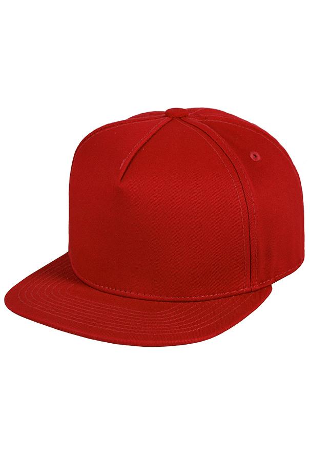 Бейсболка красная фото 1