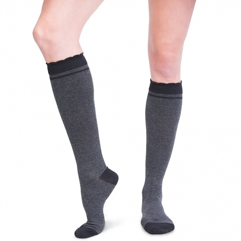 Компрессионные гольфы Belly Bandit Compression Socks Charcoal