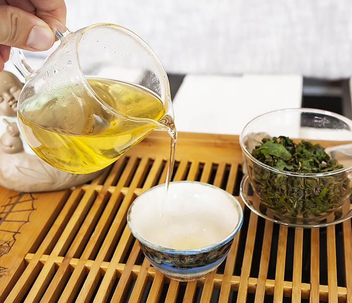 TEA-CH113 Китайский светлый улун «Те Гуань Инь» Сяо Цин (сорт «А», 50 гр) фото 09