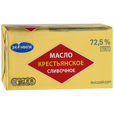 Масло Крестьянское 72.5% ИП