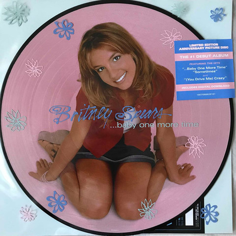 Britney Spears - Baby one More Time (limited edition, picture disc)