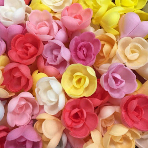 Вафельные розы, 5 шт.