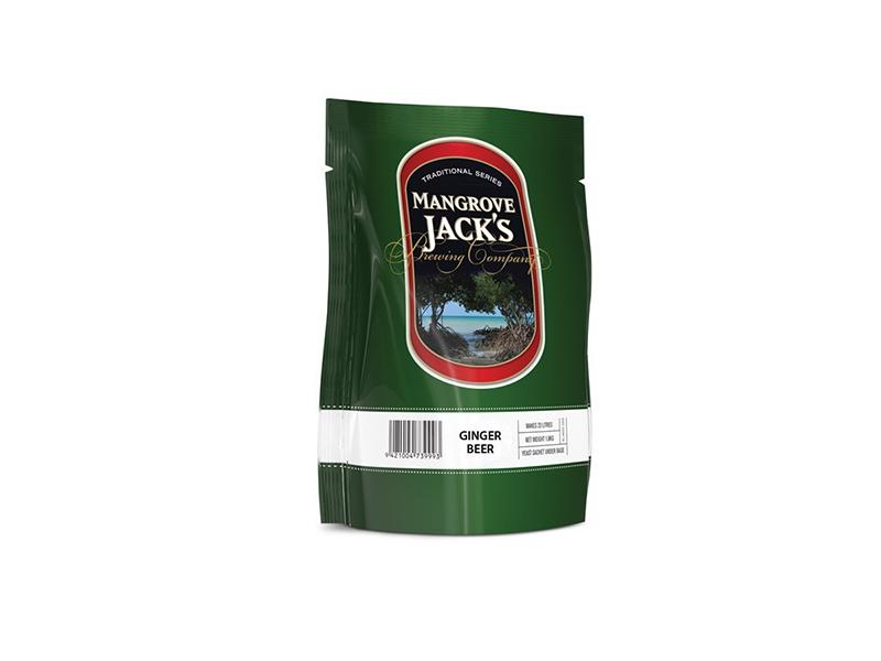 Экстракты Пивная смесь Mangrove Jack's Traditional Series Ginger Beer Pouch (1,8 кг) 9305_G_1460655484357.jpg
