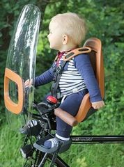 Переднее велокресло на руль Bobike One Mini Olive Green - 2