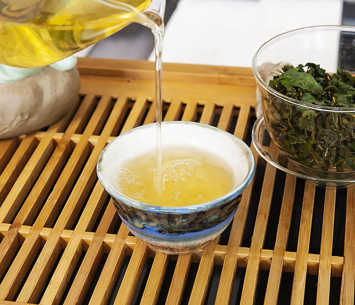 TEA-CH113 Китайский светлый улун «Те Гуань Инь» Сяо Цин (сорт «А», 50 гр) фото 10