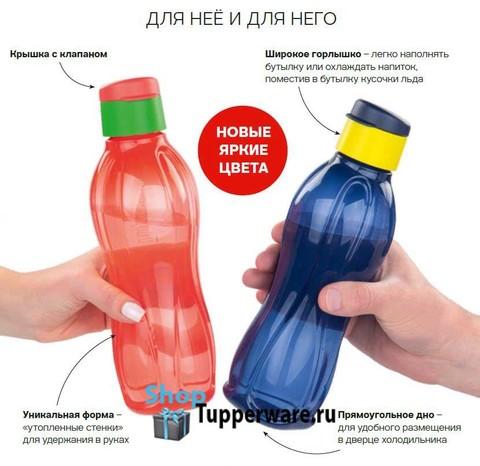 Набор эко бутылок 750мл-2шт РП311