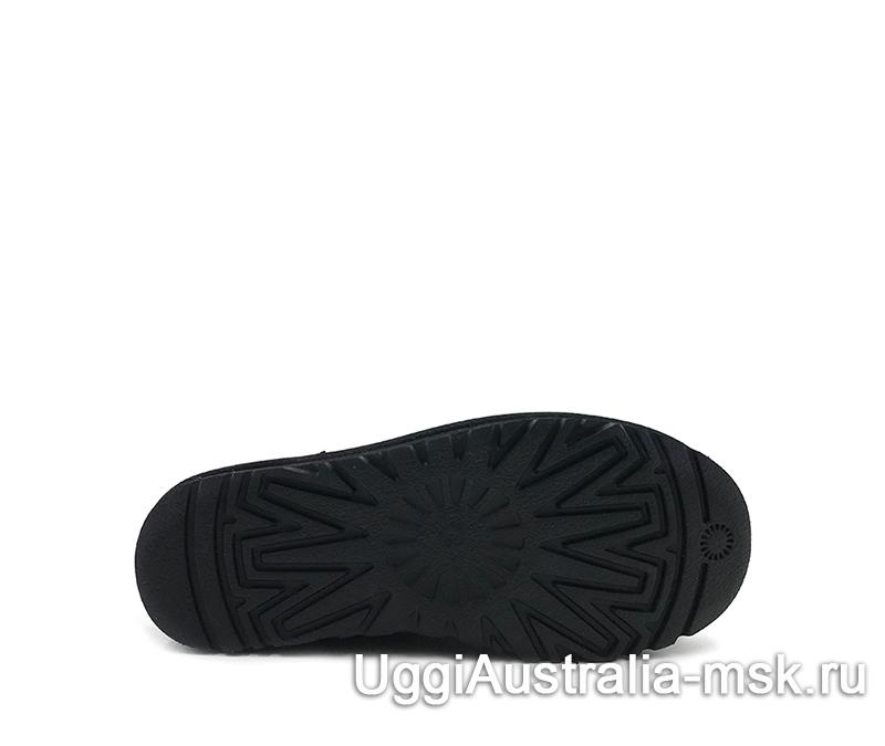 UGG Women's Classic Mini Studded Bling Black