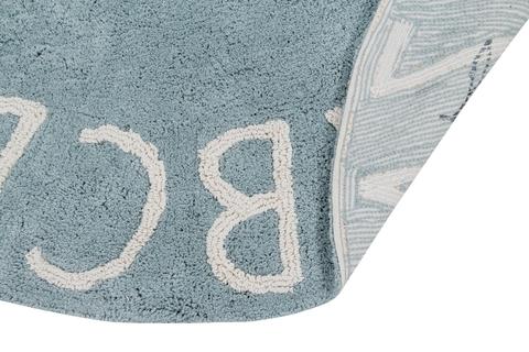 Ковер Lorena Canals Alphabet Round ABC Blue (150D)