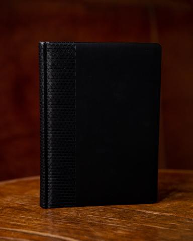 Набор с гравировкой: Ежедневник недатированный и шариковая ручка Parker IM Achromatic Matte Black123