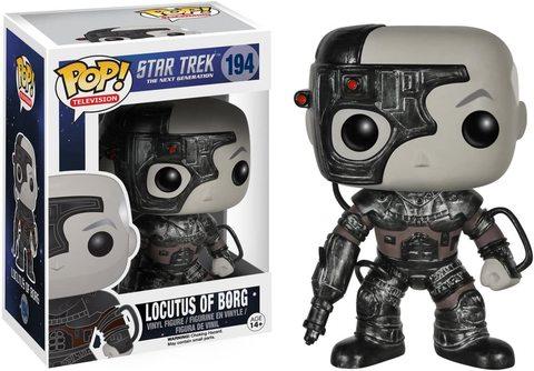 Фигурка Funko Pop Звёздный Путь: С.П. - Борг (Star Trek: The Next Generation - Locutus of Borg)