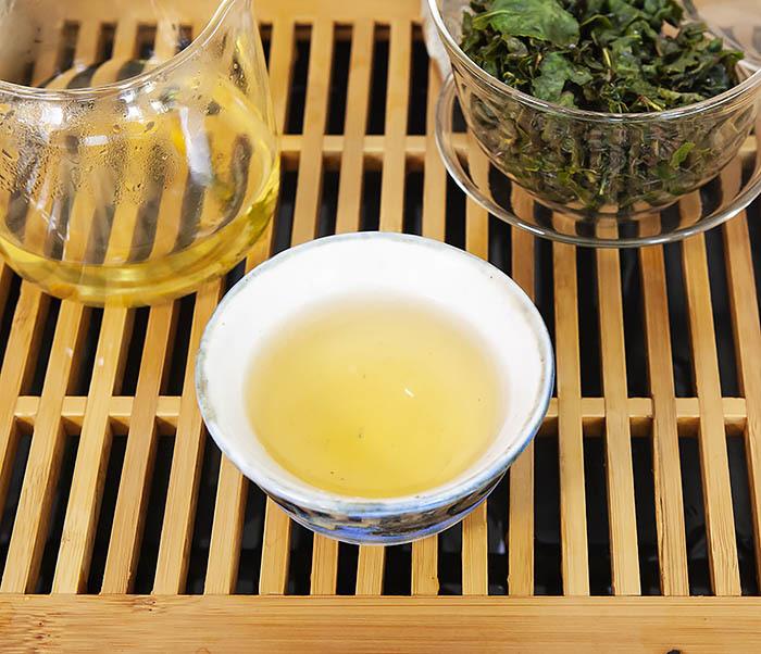 TEA-CH113 Китайский светлый улун «Те Гуань Инь» Сяо Цин (сорт «А», 50 гр) фото 11