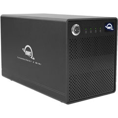Корпус для дисков OWC ThunderBay 4 Mini 4x отсека Thunderbolt 3 RAID 5 SoftRAID XT