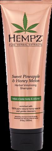 Шампунь Ананас и Медовая Дыня для придания объёма / Hempz Sweet Pineapple & Honey Melon Volumizing Shampoo