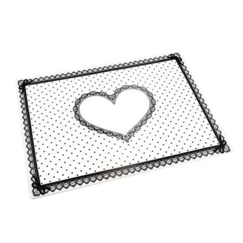 Силиконовый коврик для маникюра белый
