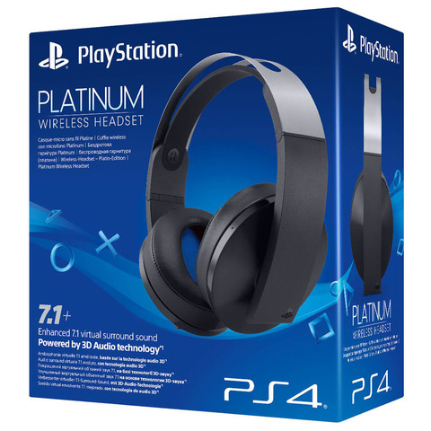 Беспроводная стереогарнитура PS4 Platinum