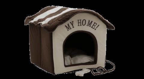 Домик YUGI коричневый My home