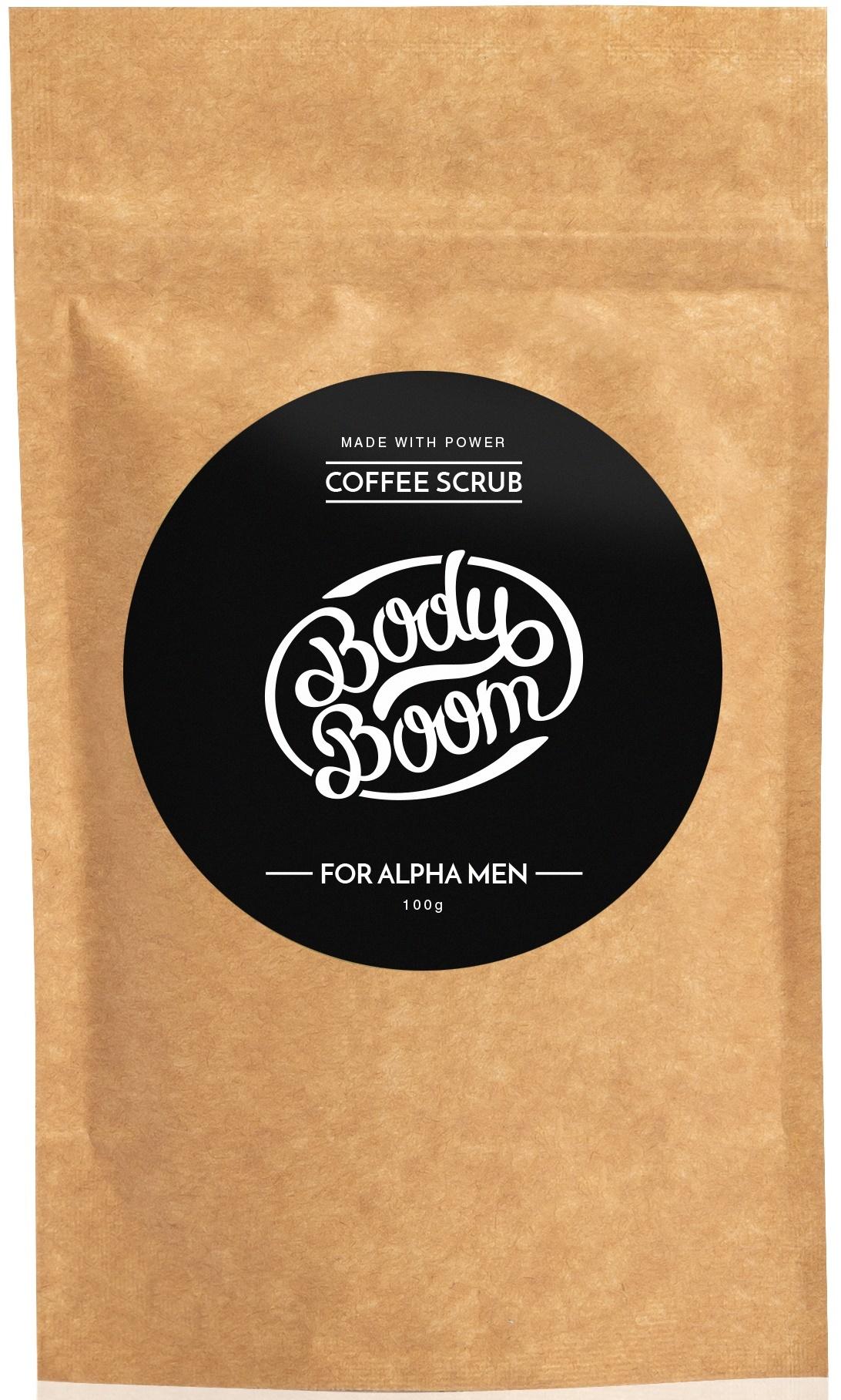 BODY BOOM Кофейный скраб для тела For alpha men 100г