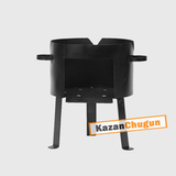 Печь под казан 40 литров сталь 2 мм