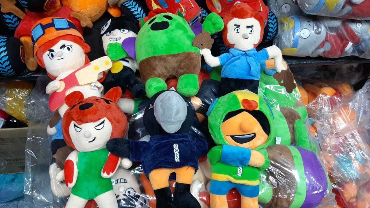 Набор мягких игрушек Бравл Старс