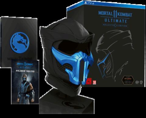 Mortal Kombat 11 Ultimate. Kollector's Edition (PS4, русские субтитры)