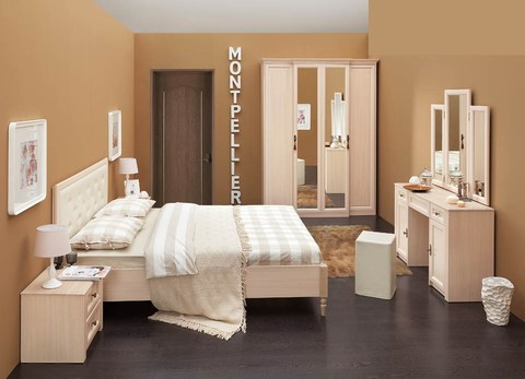 Спальня MONTPELLIER-2 Глазов дуб млечный