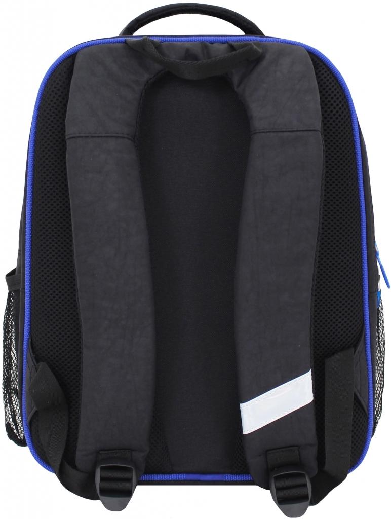 Рюкзак школьный Bagland Отличник 20 л. чорний 3 м (0058070)