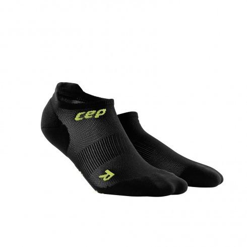 Для занятий спортом Функциональные ультракороткие, ультратонкие гольфы CEP 21_cep_ultralight_no_show_socks_black_green.jpg