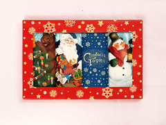 Набор молочного шоколада Друзья Деда Мороза