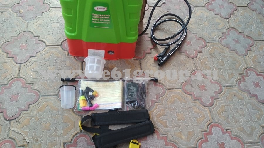 5 Опрыскиватель электрический ранцевый Комфорт (Умница) ОЭ-16л-Н с регулятором мощности стоимость