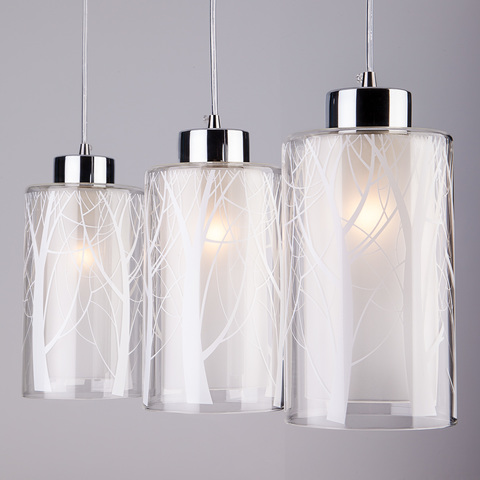 Подвесной светильник 50001/3 хром