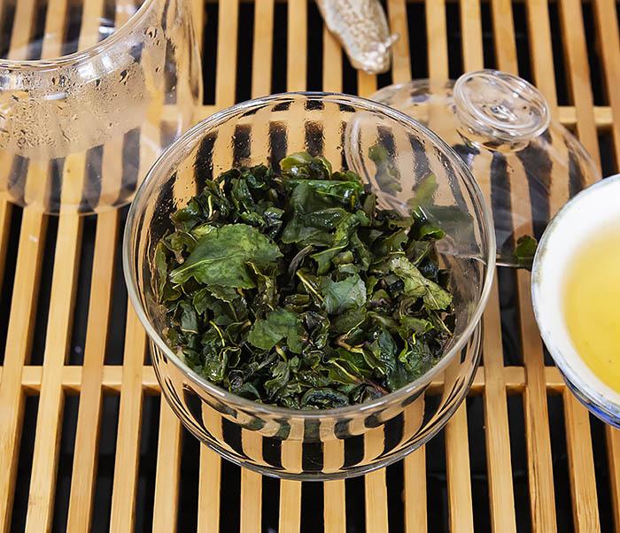 TEA-CH113 Китайский светлый улун «Те Гуань Инь» Сяо Цин (сорт «А», 50 гр) фото 13