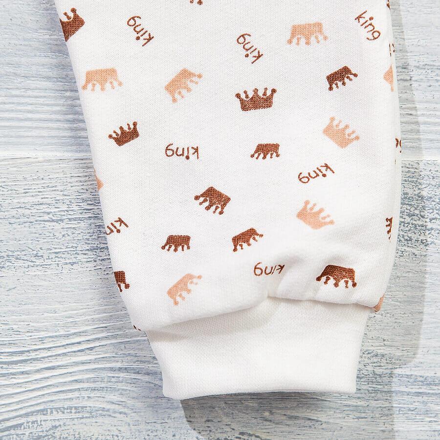 Штанишки с начесом для новорожденных