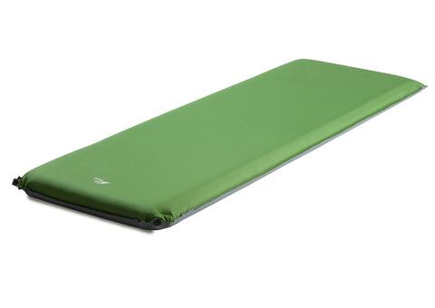 Самонадувающийся туристический коврик TREK PLANET Relax 90 (Green)