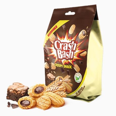 Готовый завтрак CRASHBASH Снэки Шоколадный Брауни 150 г Махеевъ РОССИЯ