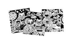 Набор бархатных раскрасок. Чудесные Коты